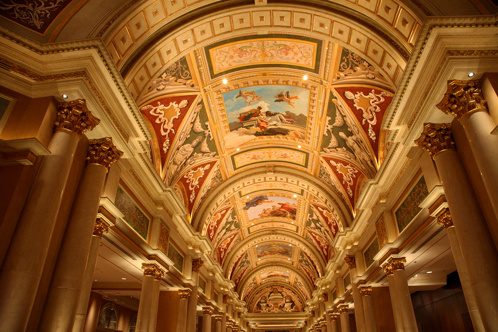 The Ceiling of the Venetian