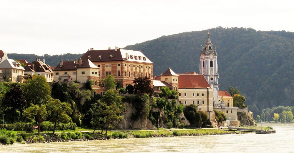 Durstein on the Danube