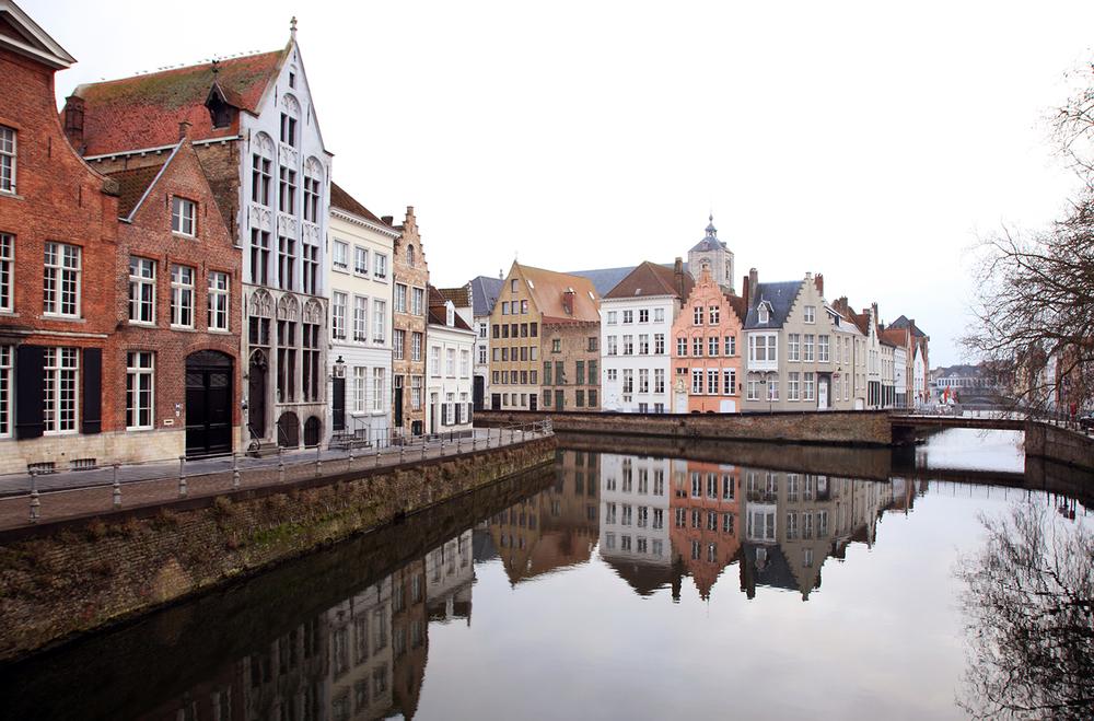 Dawn in Bruges