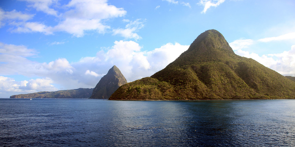 Approaching St. Lucia