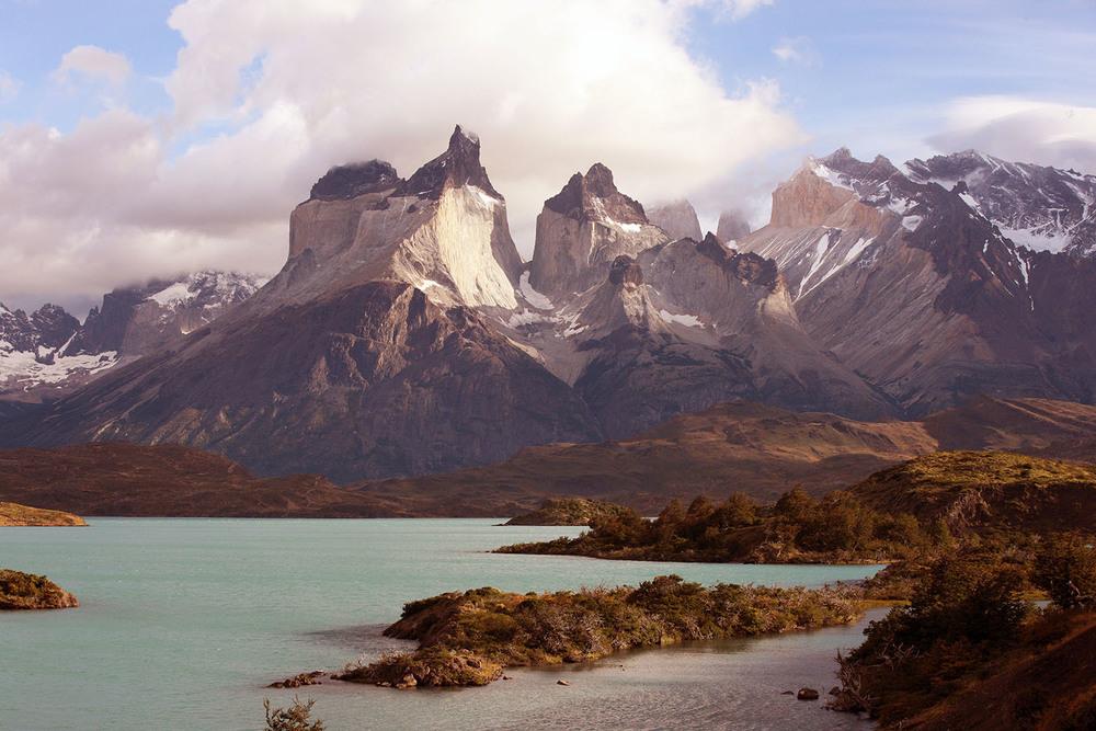 Ice-clad Peaks