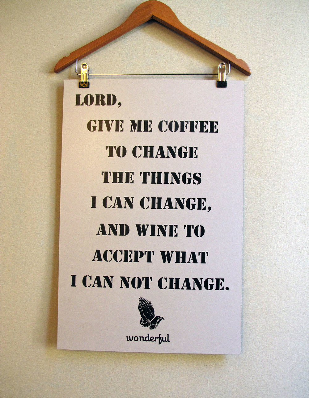 Santiago Wine Prayer