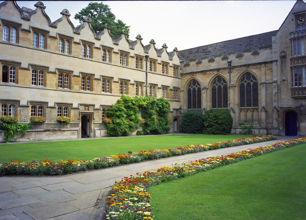 Courtyard at Oxford