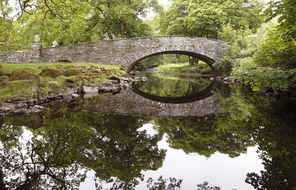 Pelter Bridge in the Lake District