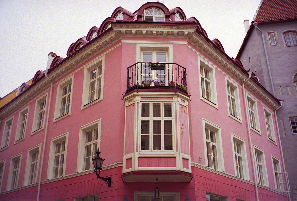 Pink on the Corner