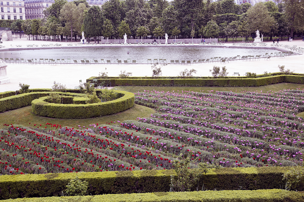 Gardens in the Tuileries