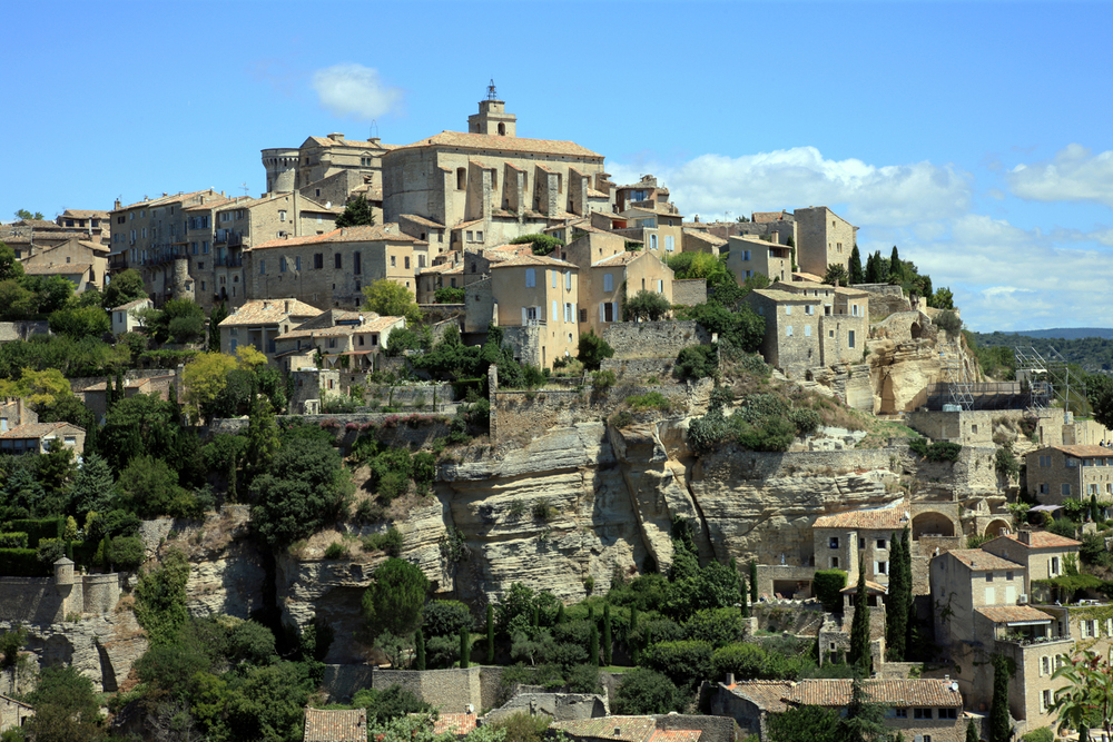 Skyline of Gordes