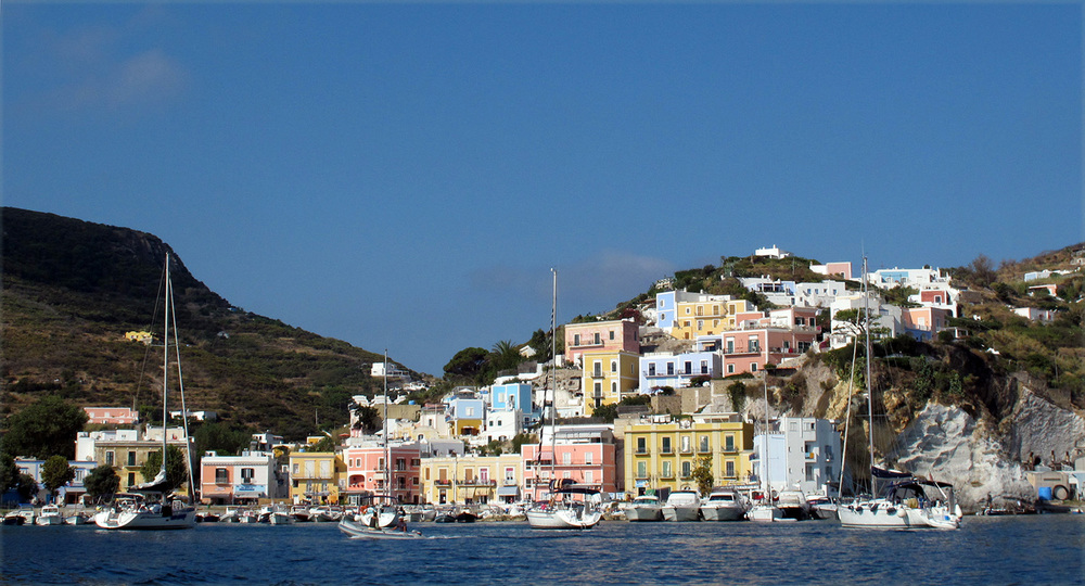 The village of Ponza