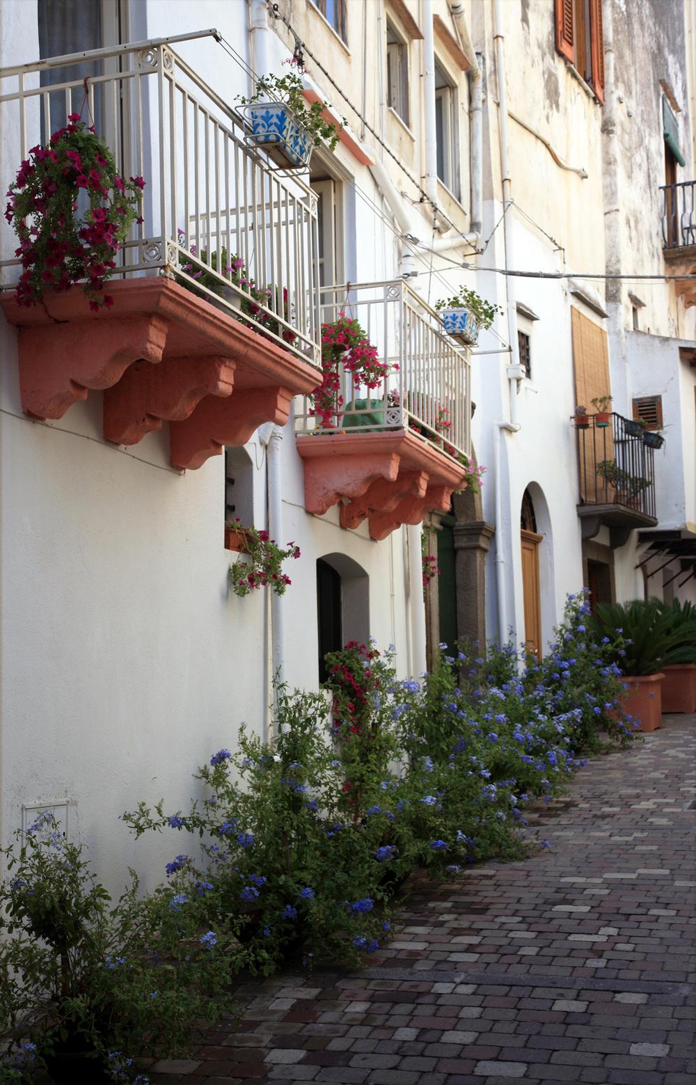 A Street in Lipari