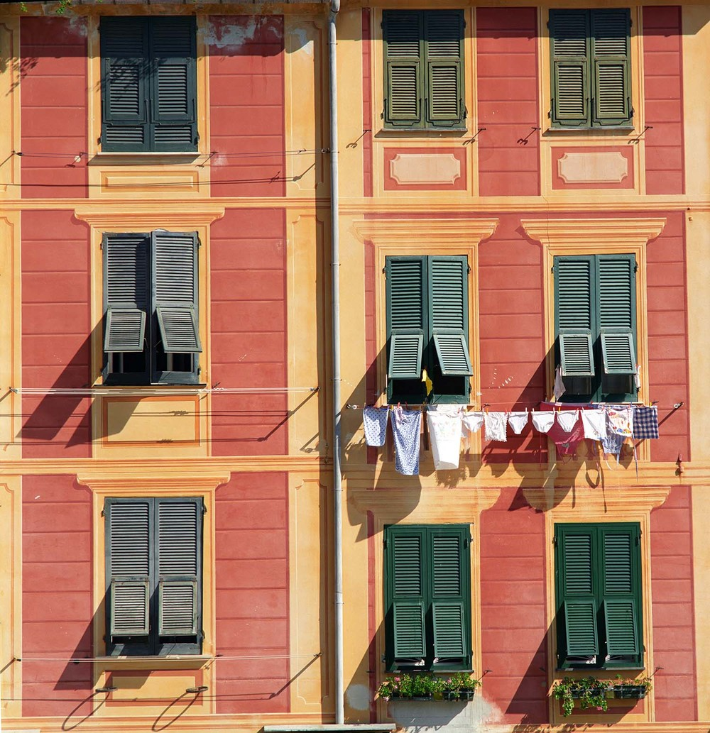Windows of Portofino