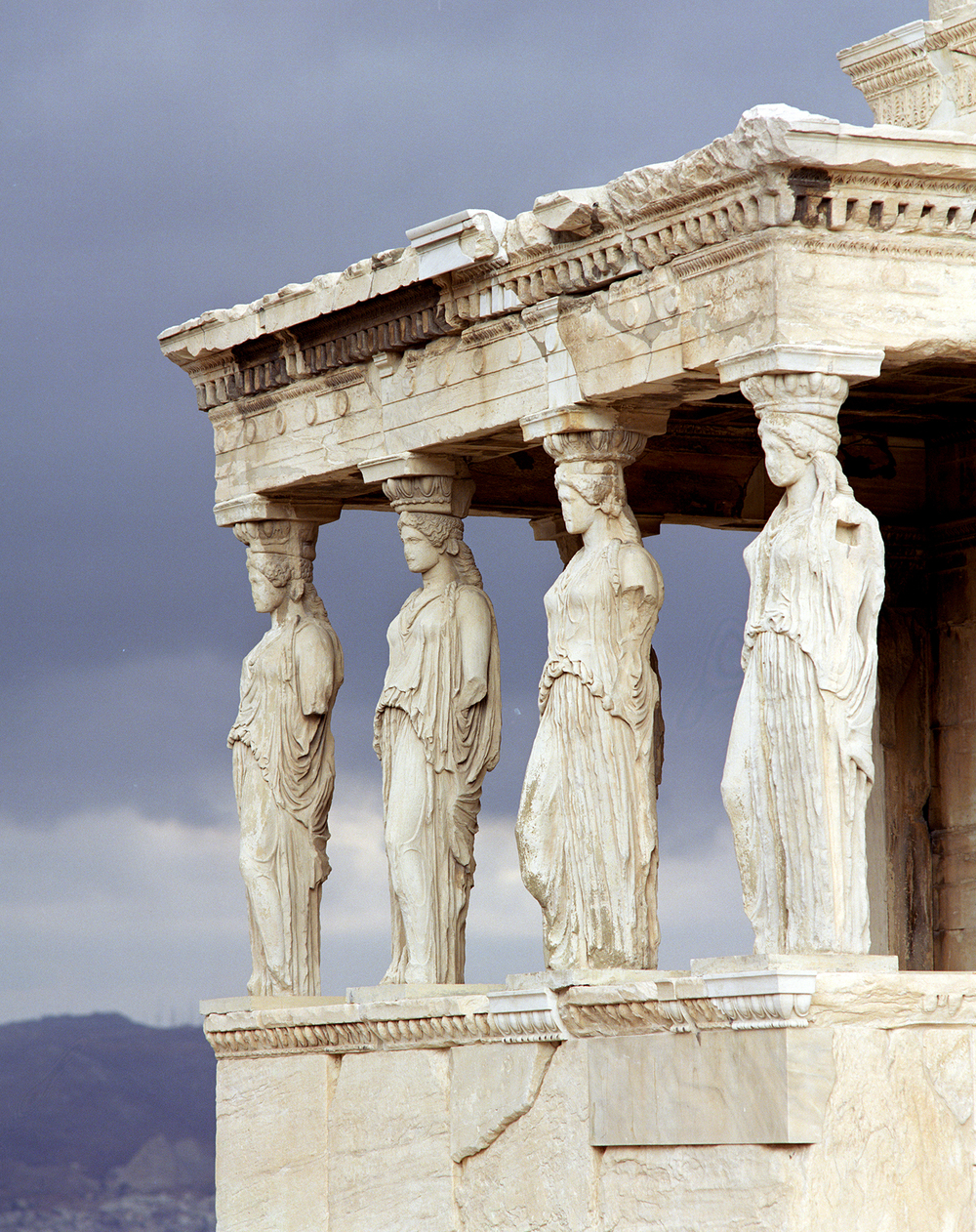The Erectheon on the Acropolis