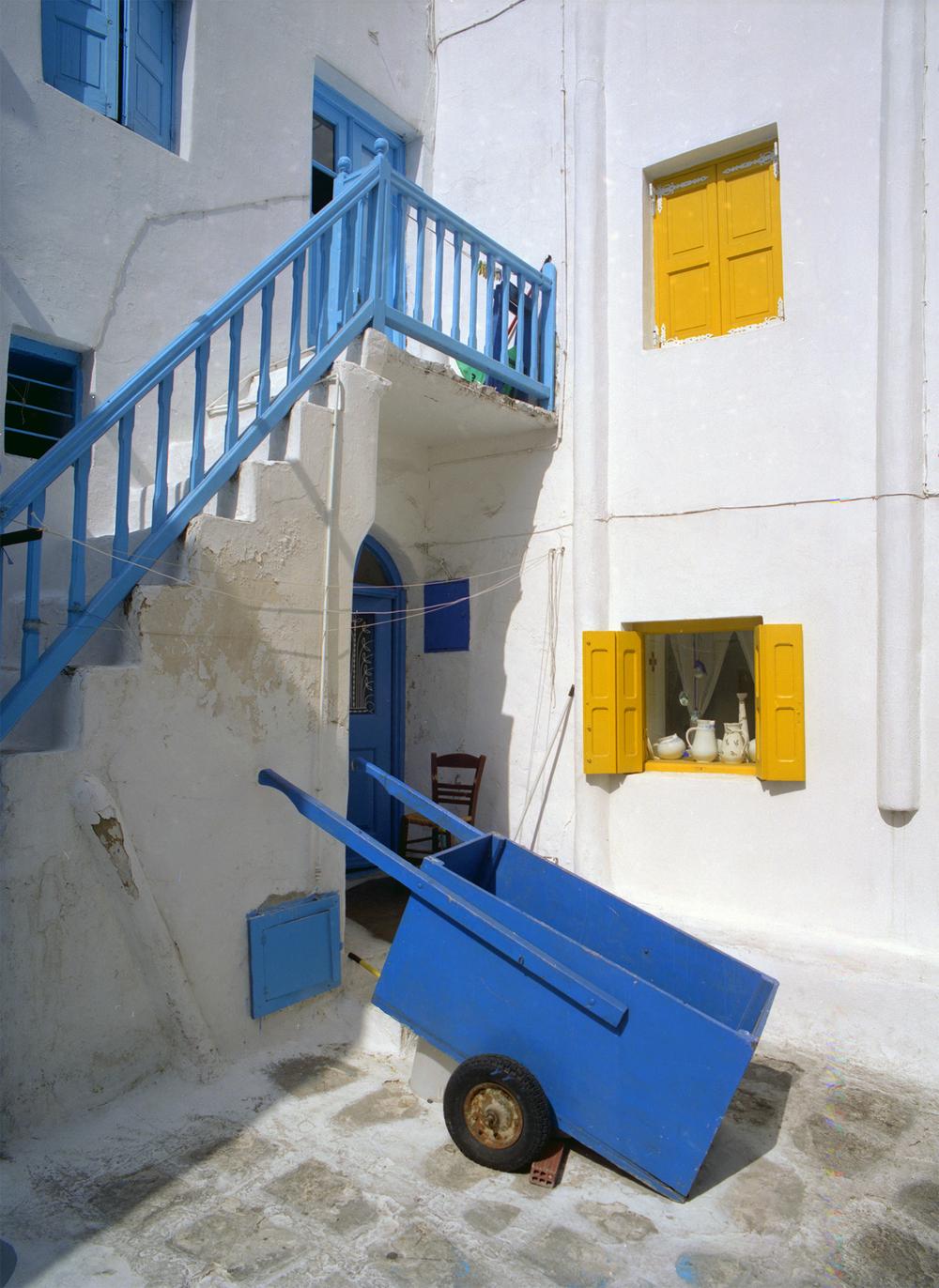 The Blue Cart