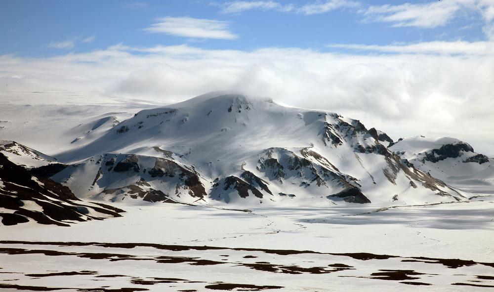 Glacier Snowscape