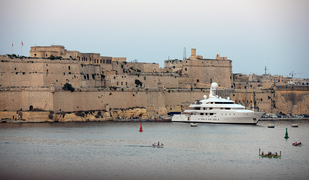 Waterfront in Valletta