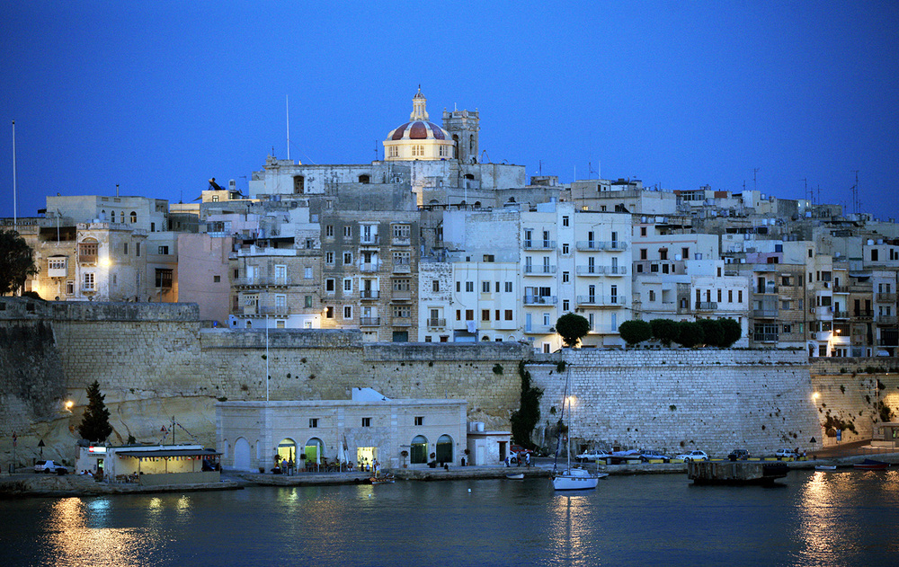 Evening in Valletta