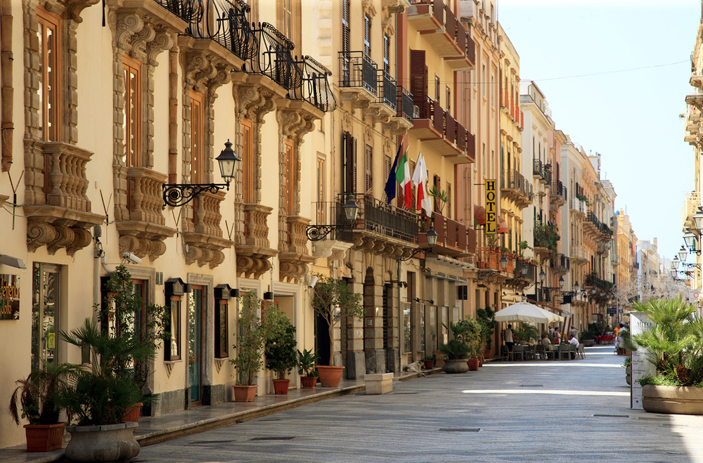 A Street in Valletta