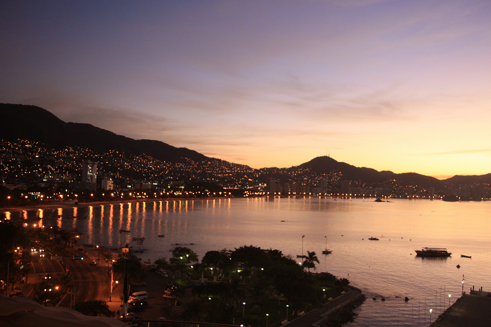 Sunrise in Acapulco