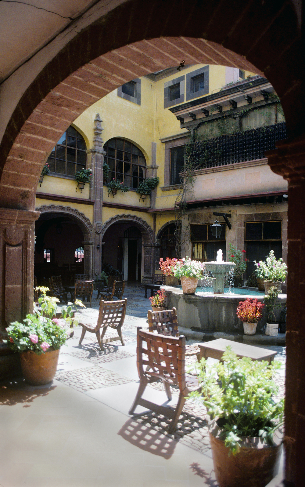 Courtyard in San Miguel