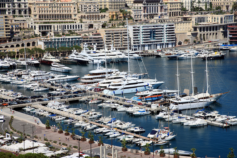 The Harbor in Monte-Carlo