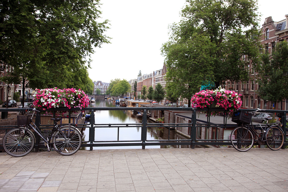 The Prinsengracht Canal