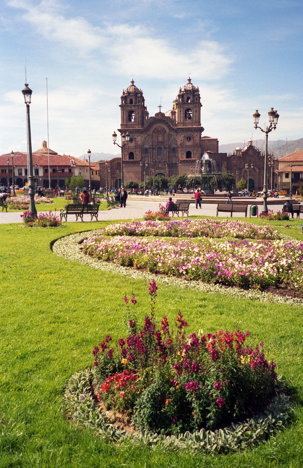 The Plaza in Cuzco