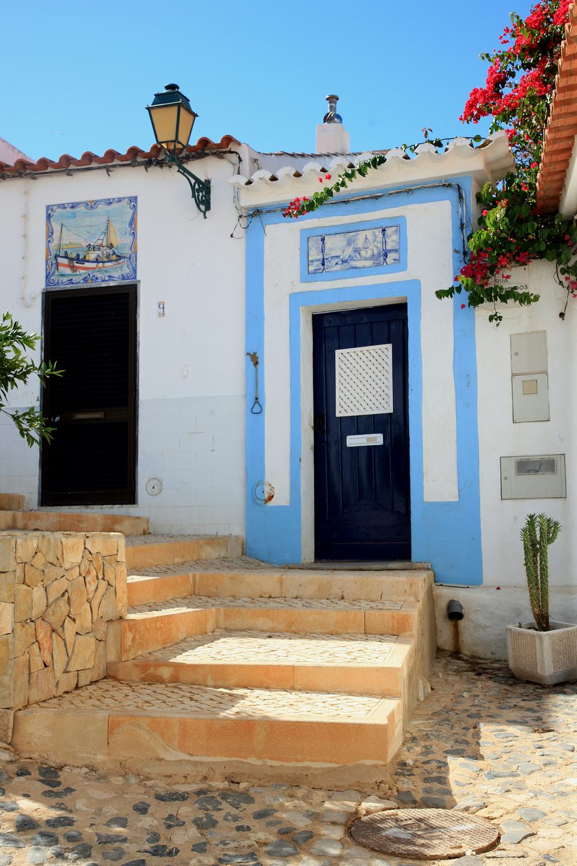 Blue Door in Ferragudo