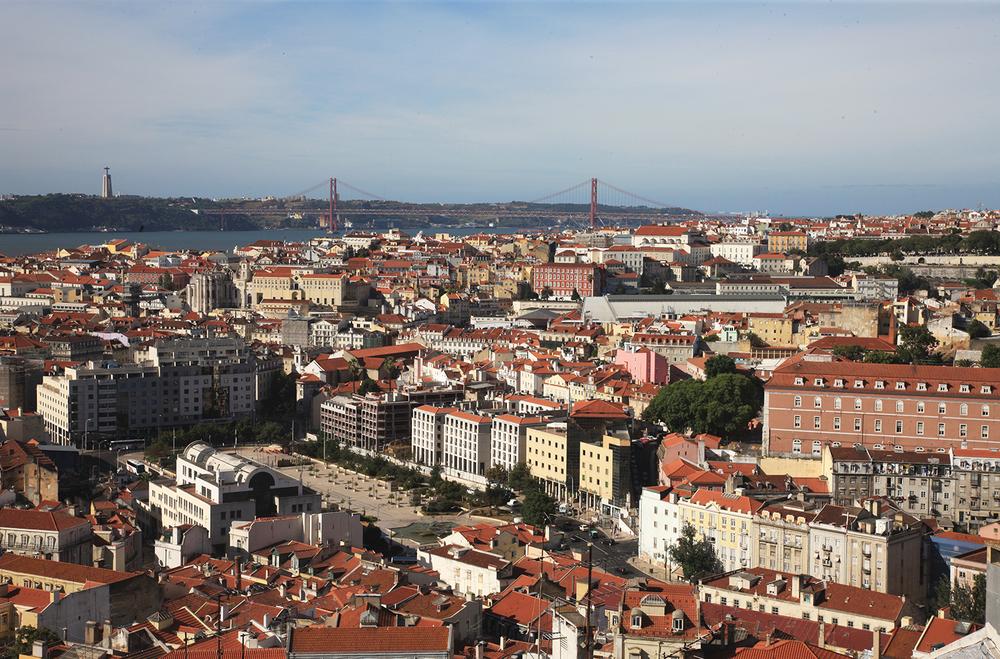 The Lisbon Skyline