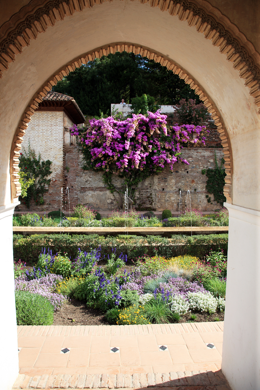 The Garden at Alhambra