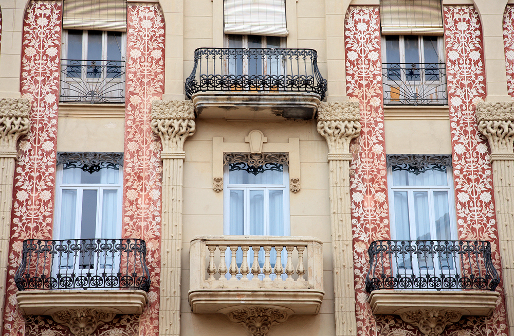 Windows of Valencia