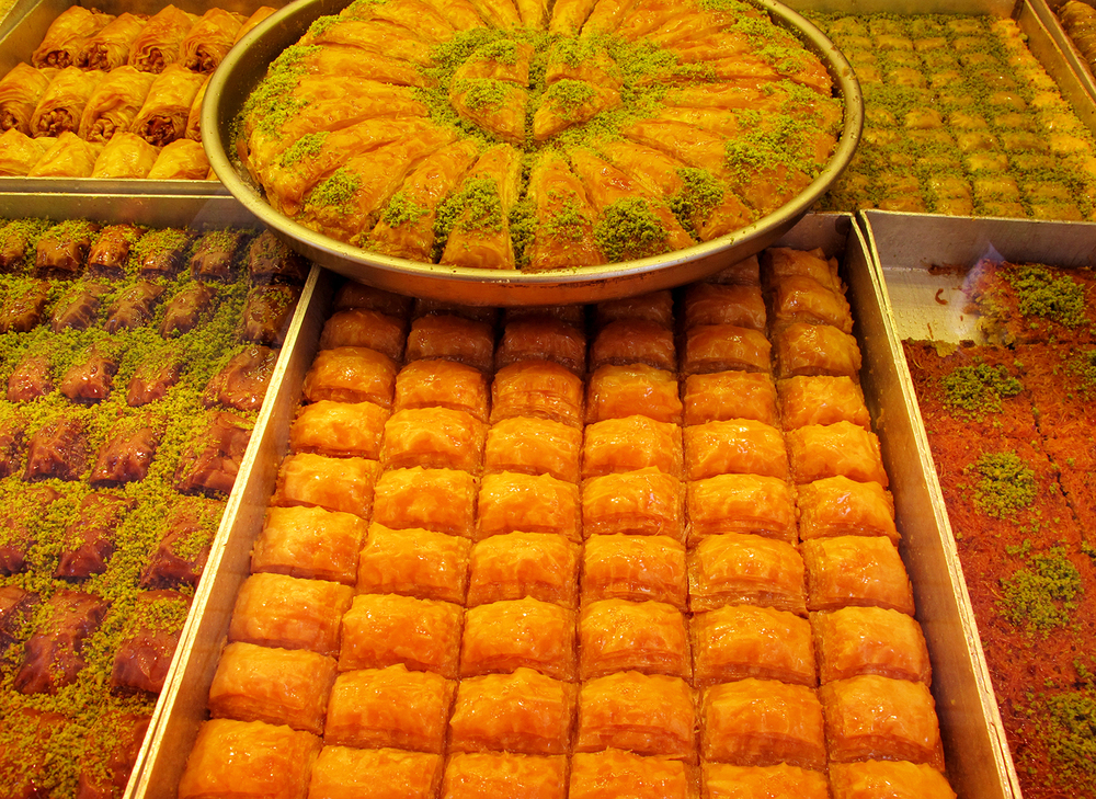Sweets in the Grand Bazaar