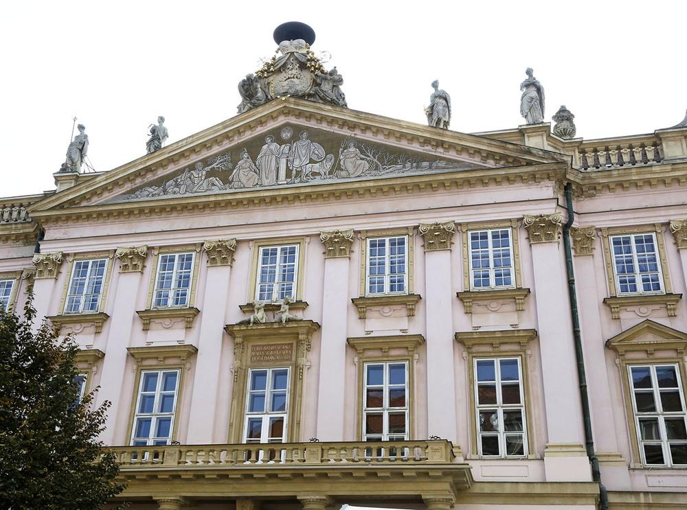 Pink in Bratislava