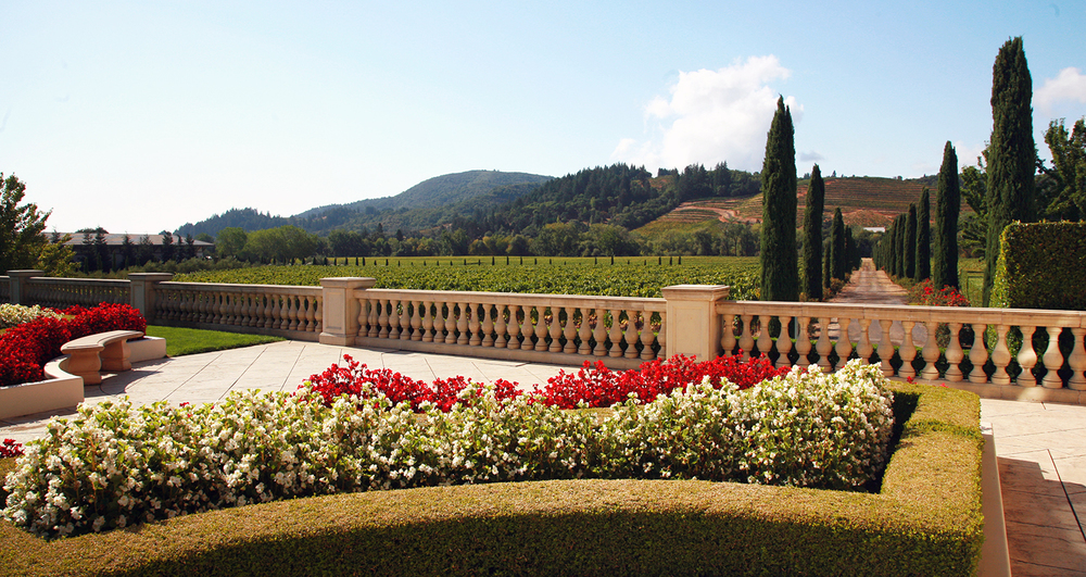 The Terrace at Ferrari Carano