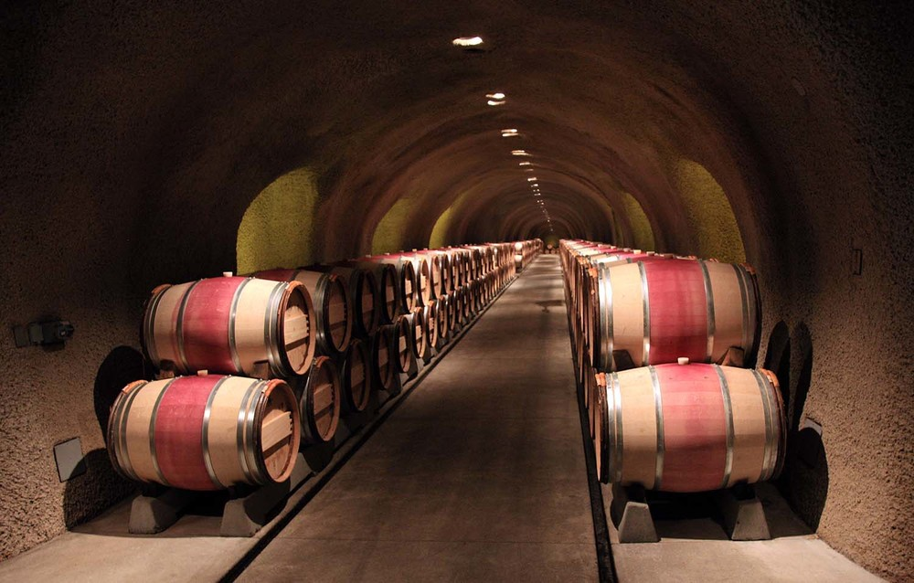 The Barrel Cave at Far Niente