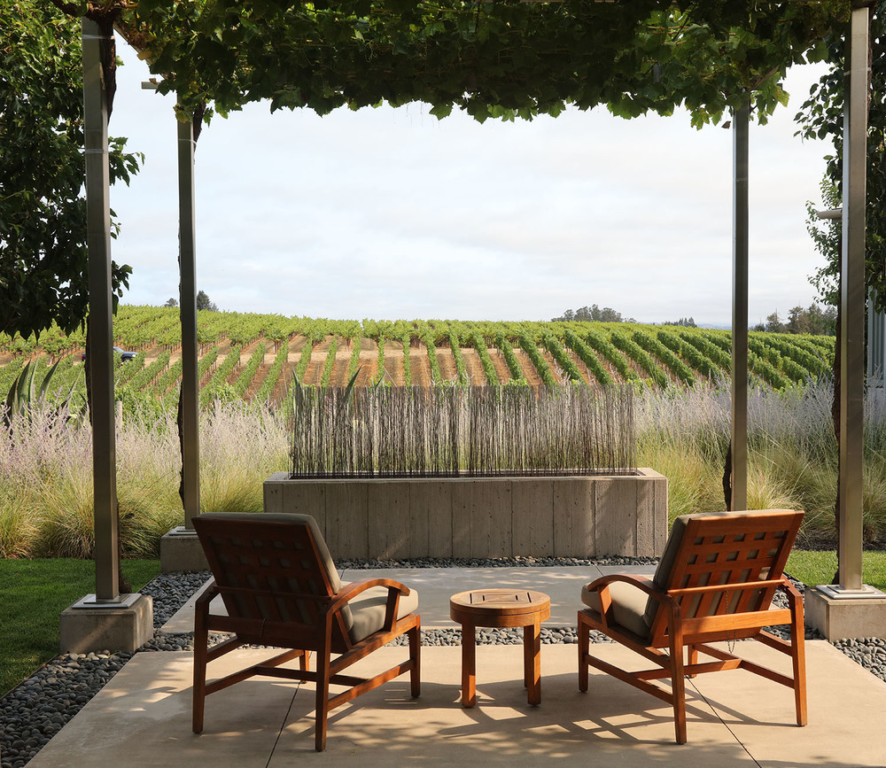 Relax at Paul Hobbs Winery