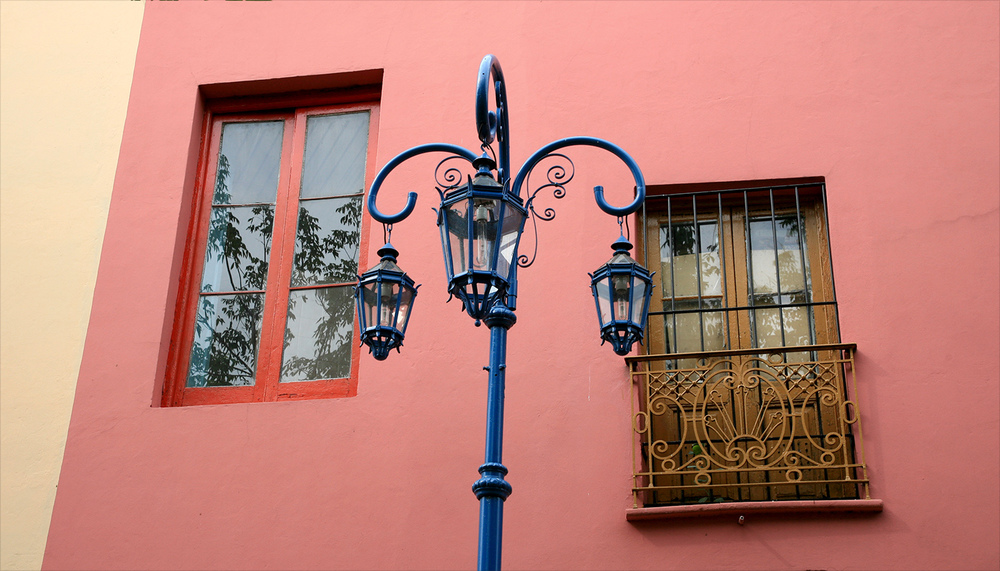 Windows of La Boca