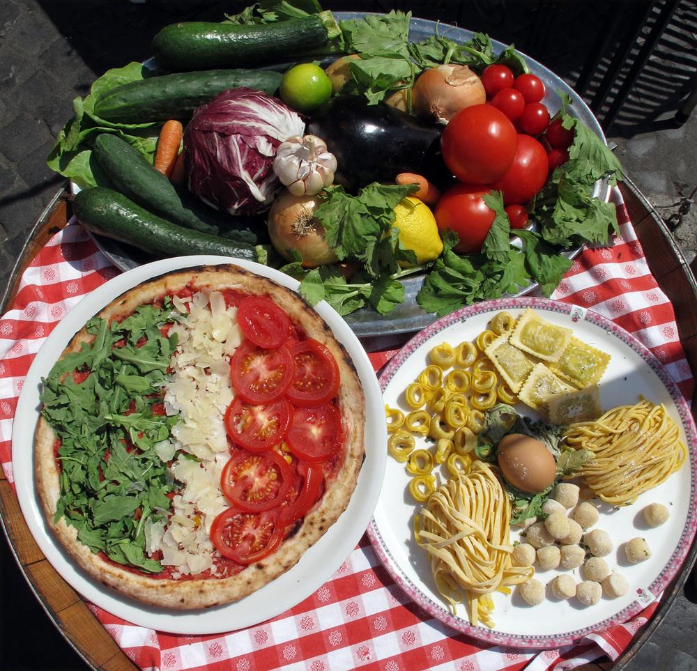 Roman Lunch