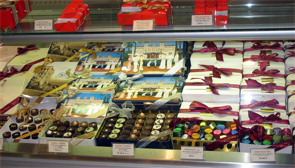 Chocolates in Monte-Carlo