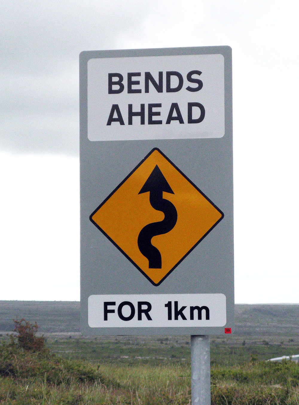 Bends Ahead