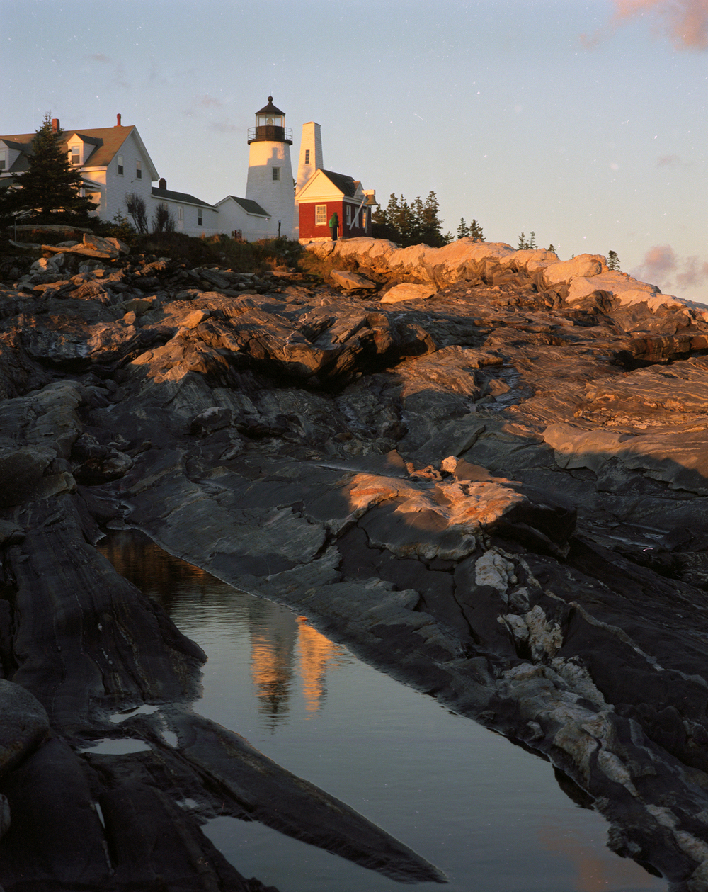 The Light at Pemaquid Point