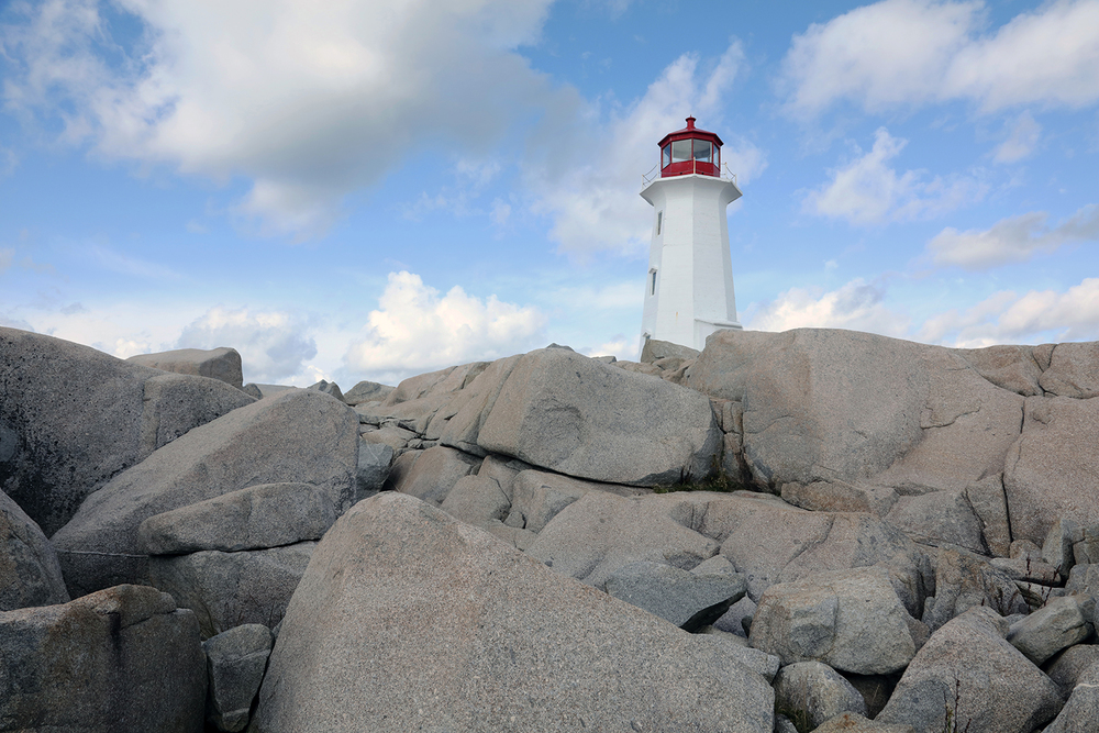 The Peggy's Cove Light