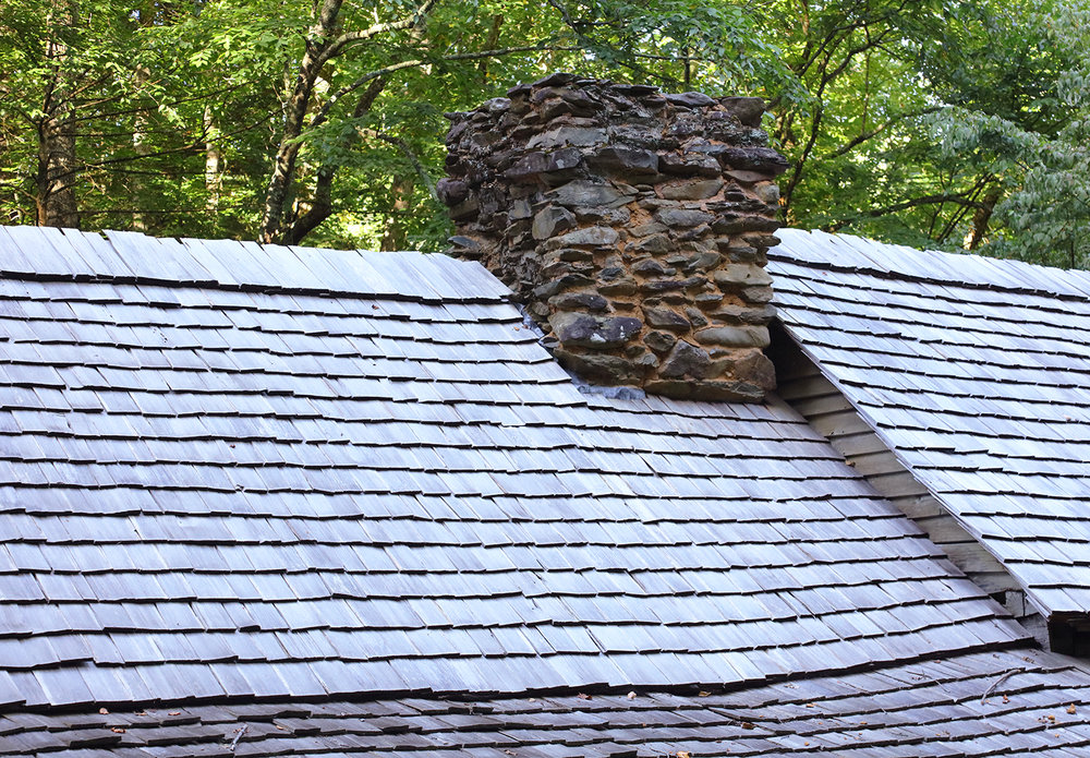Split Wood Shingle Roof