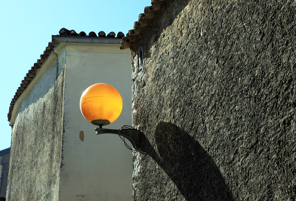 Lonely Lamp on Krk Island