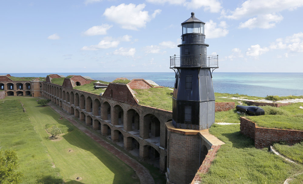 Fort Jefferson on Dry Tortugas NP