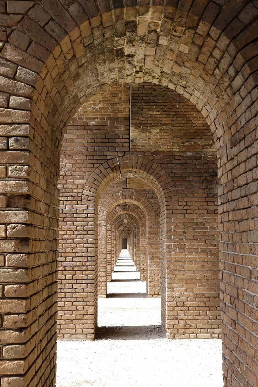 The Bricks of Fort Jefferson