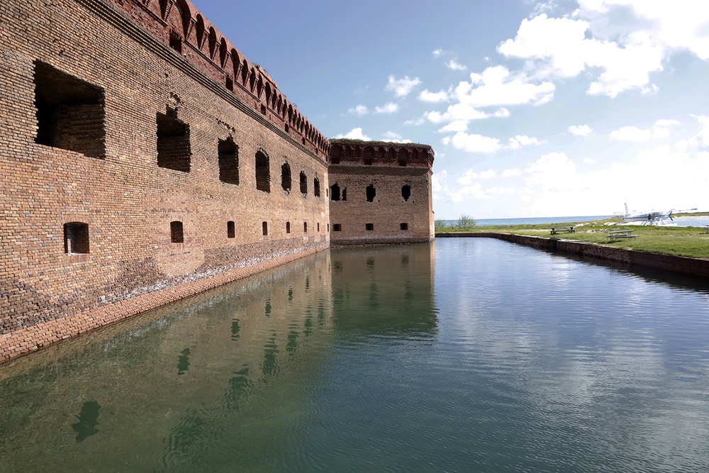 The Fort in Dry tortugas National Park