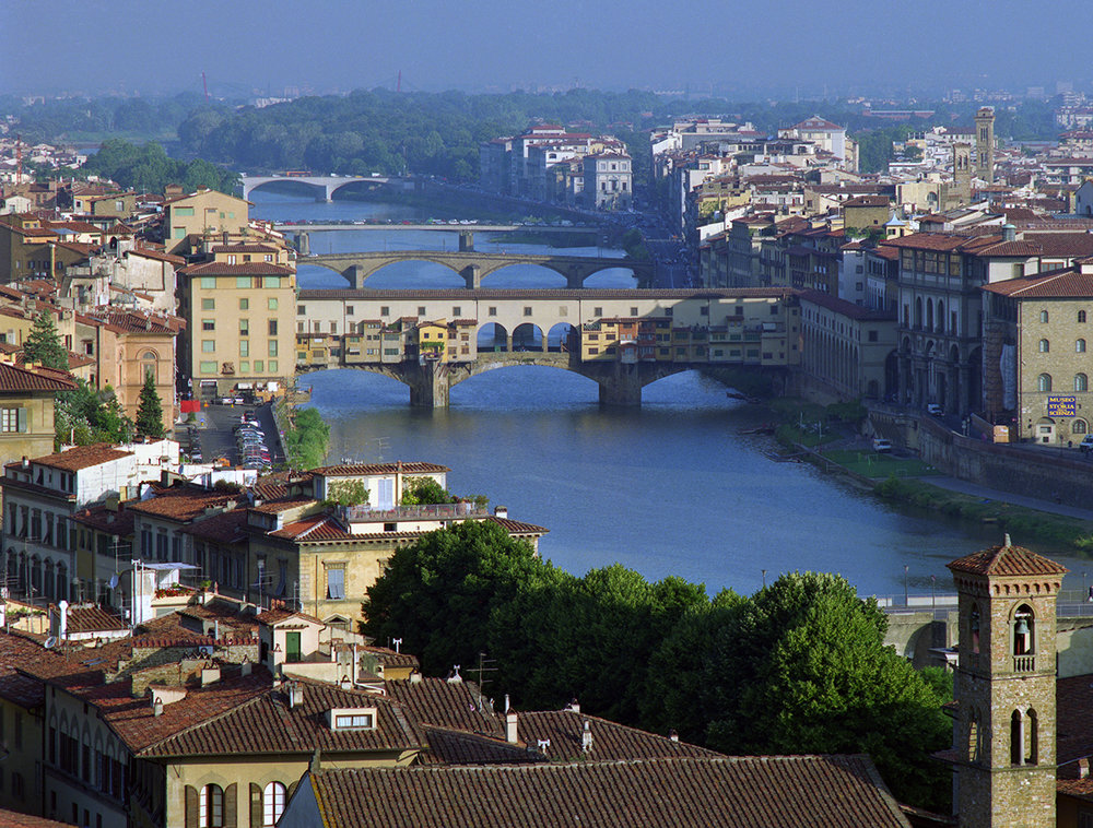 The Arno and Florence