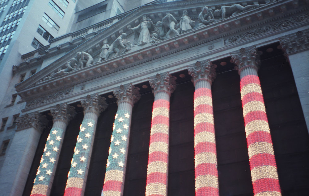 Colorful View of the NYSE