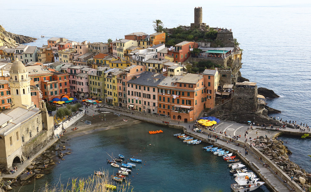 The Harbor in Vernazza