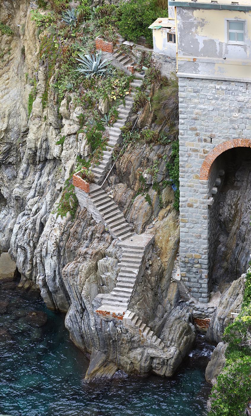 Stairs in Riomaggiore