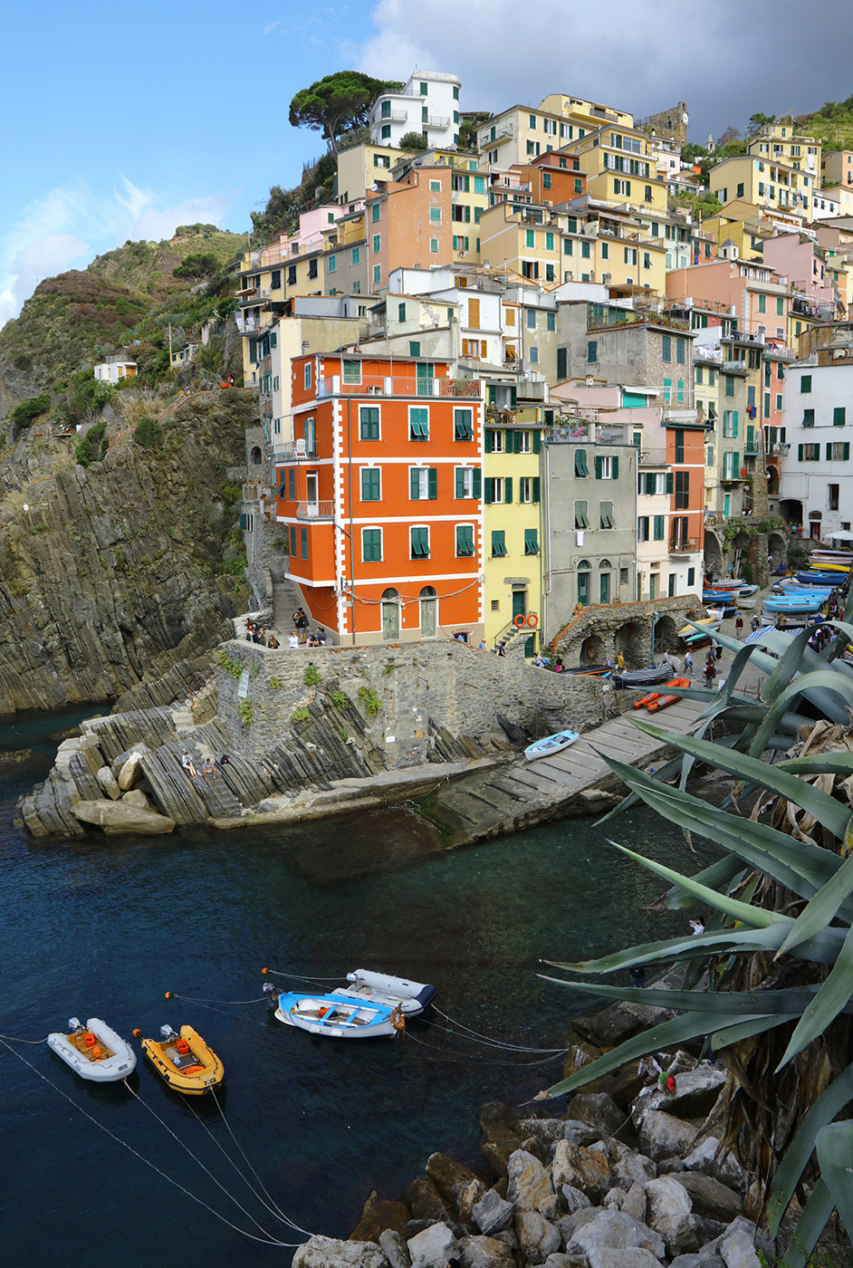 The Harbor in Riomaggiore